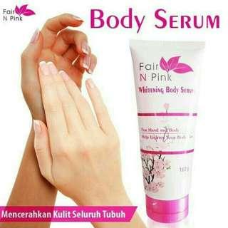 Whitening body serum