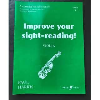 Paul Harris Improve your sight-reading! (Violin) grade 2
