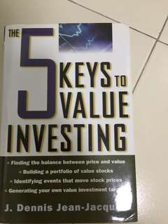 value investing book