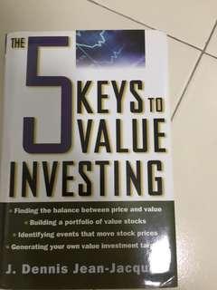 value investing book