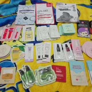 Sample dan masker korea murah