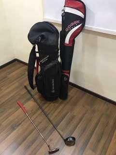 Golf Bag & Golf clubs