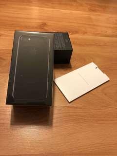 iphone 7 128gb 吉盒 / empty box