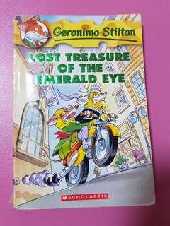 Geronimo Stilton Lost Treasure of the Emerald Eye