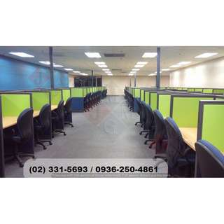 ( full fabric-office partition ) workstation.furniture