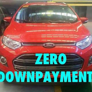 Ford zero downpayment
