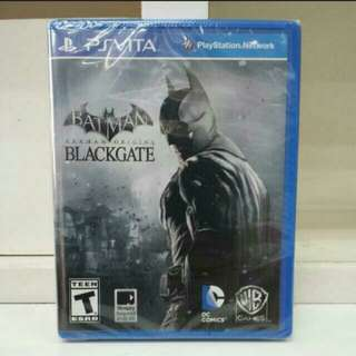 PS Vita Batman Arkham Origins Blackgate