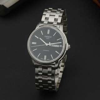 瑞士天梭 TISSOT 海星系列自動機械鋼帶男錶 男士手錶