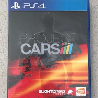 Ps4 Project Cars
