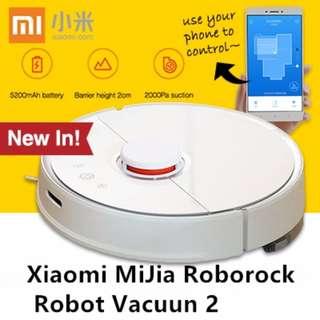 Ready Instock~Xiaomi Mijia Roborock Vacuum Cleaner 2