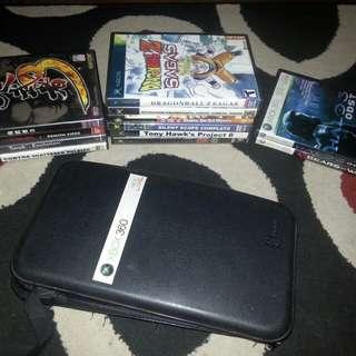 Xbox360 xbox classic ps2 cds bundle