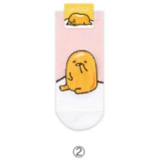 Cute Pink Gudetama PED Socks