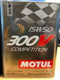 Motel 300v competition 2litres x 3