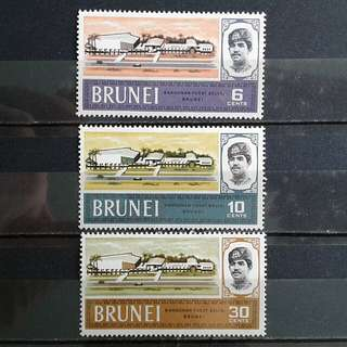 Brunei vintage unused set#4