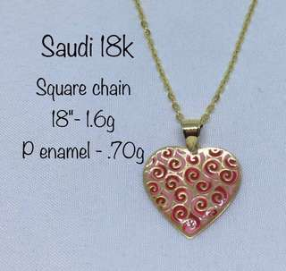 Square Chain Gold Jewelry
