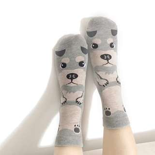 Huskies Whole Socks by Puggo