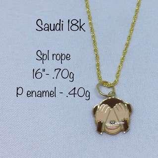 Spl Rope Gold Jewelry 2