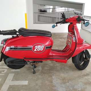 Trade or sale Fully Stock Scomadi TL200