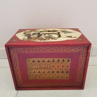 Solid Mahjong Box