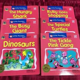 Little readers series level 6 children books