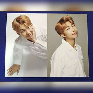 BTS Namjoon VT photocard