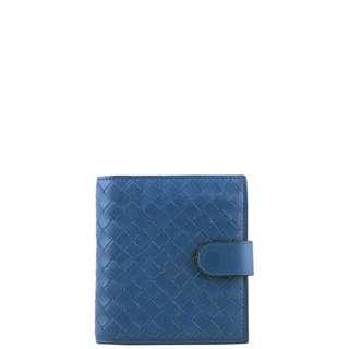 Authentic Bottega Veneta Intrecciato Mini Wallet