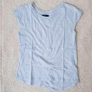 Gap light blue shirt