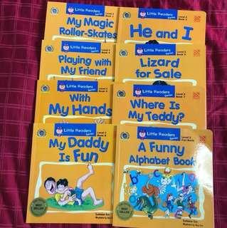 Little readers series level 2 children books