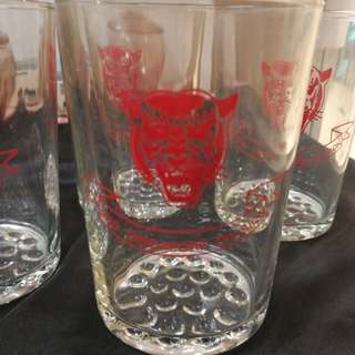 3rd Singapore division army ,glass $12 each