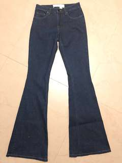 Flash sale ~ Victoria Beckham flared jeans