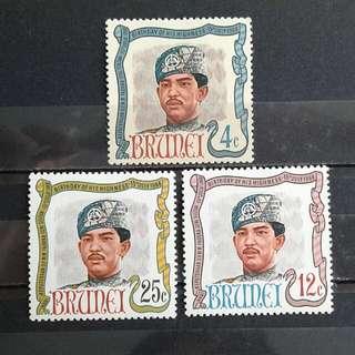 1968 Brunei unused set#7
