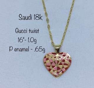 Gucci Twist Gold Jewelry