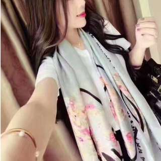 🔥Clearance🔥Authentic High Quality Silk Scarf Travel Holiday Shawl Business Trip