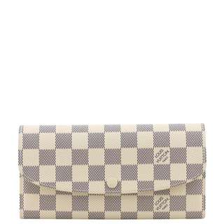 Authentic Louis Vuitton Emilie Wallet Damier Azur
