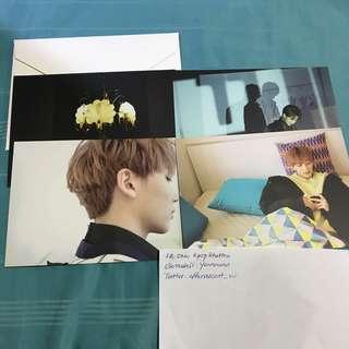 Seventeen Jeonghan Director's Cut Official Postcard Set