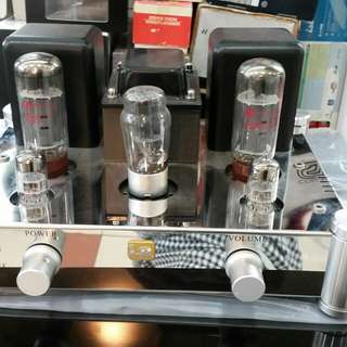 LR 120 Integrated tube Amplifier Class A...EL34
