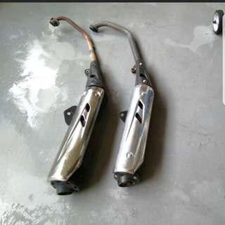 X1r stock pipe