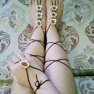 Barefoot Sandals & Hand Anklet