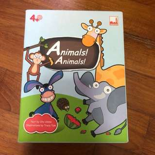 Animal flashcard for kids