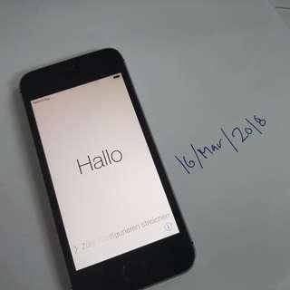 Iphone 5s 64gb Icloud lock