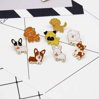 Puggo and Friends Enamel Pins
