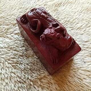 Stone Seal @ 螭虎 印钮