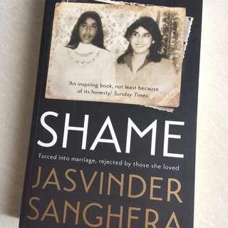 """Buku Inggris Kisah Nyata """"SHAME"""" Jasvinder Sanghera"""
