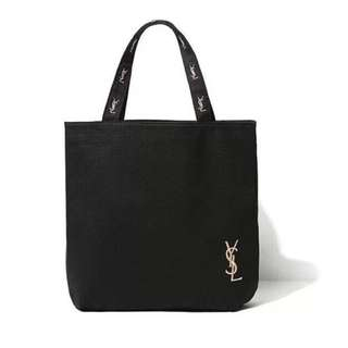 Parfum Tote Bag Black Gold Embroidery *GWP*  Ready Stock + FREE Normal Mail