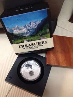 Treasures of the world - Europe Locket Silver Coin