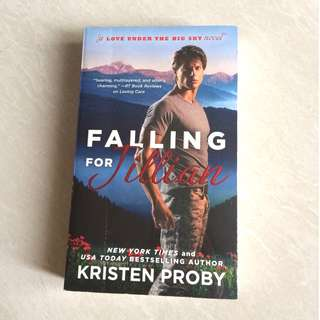 "Buku Novel Inggris Romance ""Falling For Jillian"""