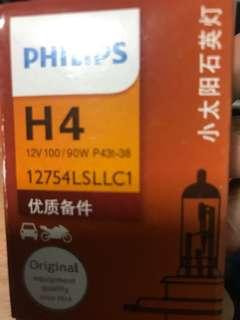 Philips 12v 90/100w H4 standard bulb