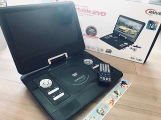 Portable DVD / EVD Player with remote control