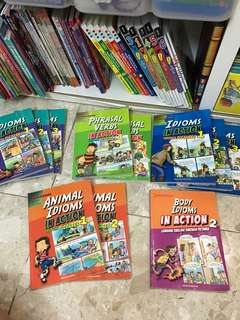 Idioms in action phrasal verbs body animal 11 books