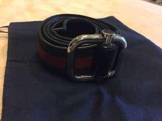 Reprice! Fast Sale! Gucci mens belt auth.